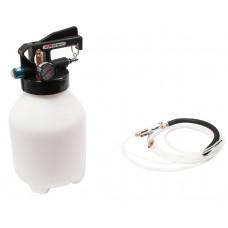 Бачок  6 л. для откачки и заправки тормозной жидкости с пневматическим приводом  JTC-1024