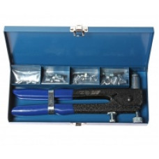 Заклепочник для резьбовых заклёпок с комплектом заклёпок М3-М6  JTC-5821А