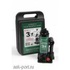 Домкрат  бутылочный    3 т.  170-330 мм.  кейс    АТ 43064