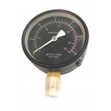 Манометр для гидравлического пресса 20 т. d-100 мм. М20х1,5 АД 43828