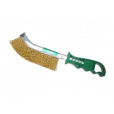 Щетка  металлическая   пластиковая ручка    MATRIX 748505  , АТ-090, SKRAB 35301   1/12шт.