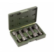"""Набор экстракторов 1/2""""  8-16 мм. для болтов с сорванной внутренней резьбой 5пр. кейс ДТ 839775"""