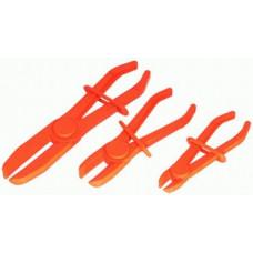 Зажимы для шлангов Ф 15-60мм (3шт. + фиксатор)  АД 30403