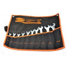 Набор рожковых  ключей 10 пр.  ( 6*24 мм.)  сумка   АД 37010