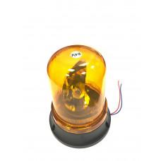 Маяк  24V  галоген, магнит + стационар. желтый  DA-00504