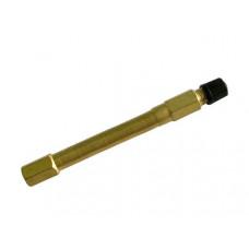 Наконечник вентиля подкачки прямой L=110мм.   металл  PR-0200