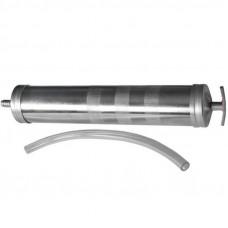Шприц  маслозаливной  металл  1000 мл.  гибкий шланг  60002