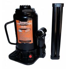 Домкрат гидравлический бутылочный   15 т.  205-390 мм.  АД  43160