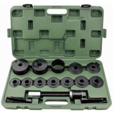 Набор для запрессовки и выпрессовки подшипников ступицы  19 пр. max 84мм.  ДТ 813119,  АД 40900