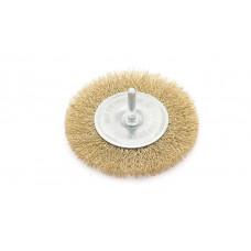 Щетка для дрели  проволочная  плоская    75 мм ДТ 271075