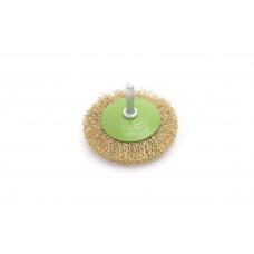 Щетка для дрели  проволочная конусная   75 мм  ДТ 271275