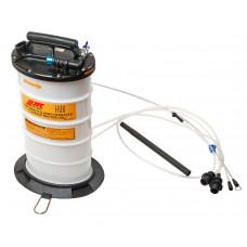 Бачок 10 л. маслооткачивающий с ручным и пневматическим приводом JTC-1050