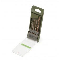 Набор  сверл  по металлу   5 шт.  1,5- 5 мм. Сobalt 5%   ДТ 211205