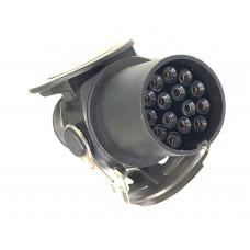 Разъём кабеля ABS 15 контактный , вилка  DA-02229