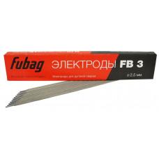 Электрод FUBAG   D=2.5мм.  0.9 кг.  (рутилово-целлюлозным покрытием) 38855