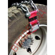 Цепи - браслеты колесные ВЕЗДЕХОД-3 315мм. R22.5 d-8мм.Ширина ленты 50мм.