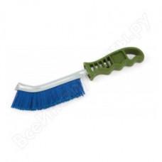 Щетка  металлическая   пластиковая ручка   ПВХ  щетина    ДТ 270281