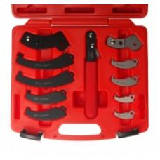 Ключ для круглых гаек с прорезью (с насадками) JTC-4455