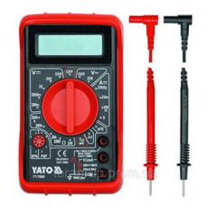 Мультиметр  цифровой универсальный   YATO 73080