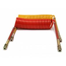 Пневмошланг  М-16  L=5,5   (крас-желт)  378