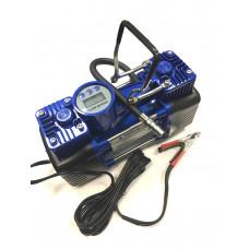 КОМПРЕССОР  двухцилиндровый  с  электронным манометром и функцией автостоп 12B, 280Вт, 60 л/мин  630
