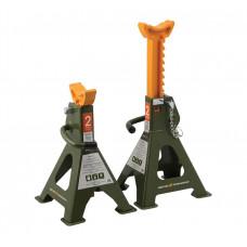 Подставка под машину зубчатые 2 т.  268-418 мм.  (2 шт.)   ДТ 900302
