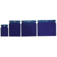 Набор шпателей пластик 50-75-100-120 мм.4 шт. Спарта 860045