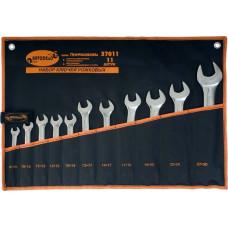 Набор рожковых  ключей 11пр.   ( 6*30 мм.)   сумка   АД 37011