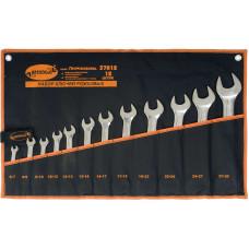 Набор рожковых  ключей 12 пр.  ( 6*30 мм.)   сумка   АД 37012