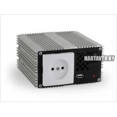 Преобразователь напряжения 12В - 220В (инвертор)  450 ВТ с  USB