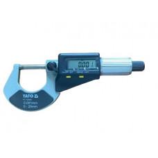 Микрометр  0-25мм.  цифровой дисплей YT-72305