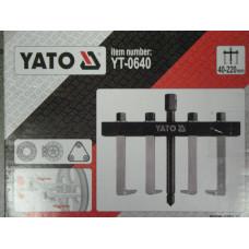 Съемник  2 лапый с доплнительными лапами   40- 220 мм  на  травер.YATO 0640