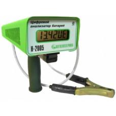 Тестер цифровой анализатор батарей Н-2005  АВТОЭЛЕКТРИКА