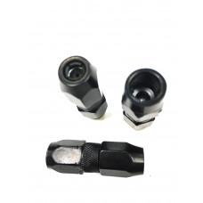 Наконечник   шприца  4-х лепестковый  с клапаном   черный   PR-0341 42006