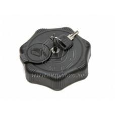 Крышка Б/Б 80 мм черная с защитой  (пластик)  АТ20764