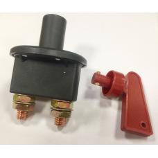 Выключатель массы 24V с ключом универсальный