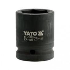 "Головка короткая ударная  * 29 мм. 3/4""   6 гр.  YATO-1079"
