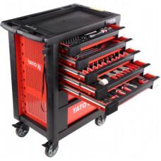 Сервисный шкаф с инструментами 211 предметов YT-55290