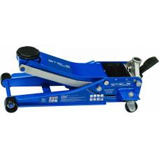 Домкрат  подкатной  3,0т.,быстрый подъем 75-505мм педаль STELS