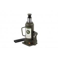Домкрат гидравлический бутылочный   15 т.  205-390 мм.  ДТ 903215