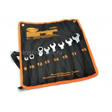 Набор ключей трещоточных  шарнирных  8 пр. 8-19 мм. сумка  АД 30228