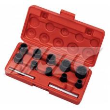 Набор головок для повреждённых болтов и гаек  8- 21 мм.  JTC-1321