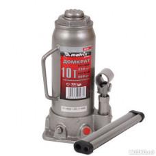 Домкрат гидрав.бутылочный   10т. 230-460 мм. MATRIX 50725