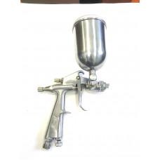 Краскопульт  верх. бак  металл    мини   Ф0.8  F-3