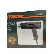 Фен для обжигания краски 1500 Bт.  STHOR в наборе 79328