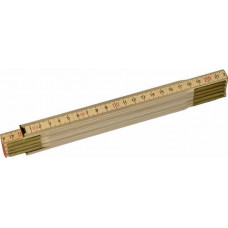 Линейка складная деревян. 1м  /24 шт.15010 , АТ 35810