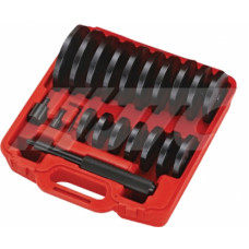 Набор оправок для выпрессовки подшипников, втулок, сальников (70-150мм.) 21 пр. JTC-4855
