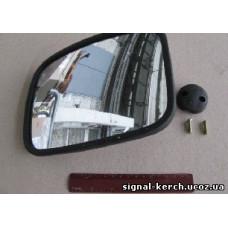 Зеркало боковое ZL-021B, АТ 3021В (220*170)  V5 MAN,DAF с зл. привод.
