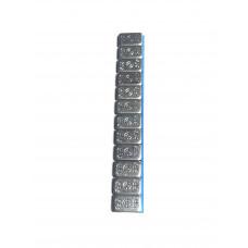 Грузики балансировочные адгезивные грузовые тонкие 200гр (Россия) 15шт