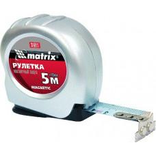 "Рулетка ""Matrix"" 5м*19мм магнитная 31011,  АТ 35805"